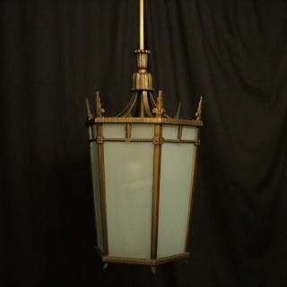 Art Deco 7 Light Antique Hall Lantern