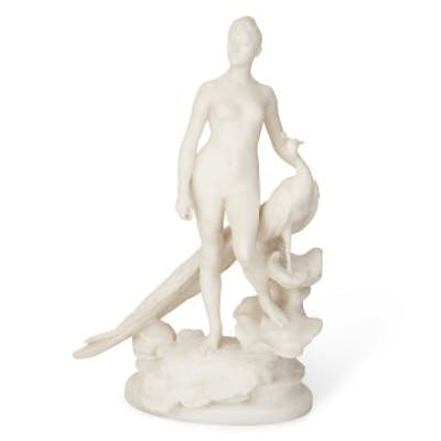 19th Century French marble sculpture by Falguiere