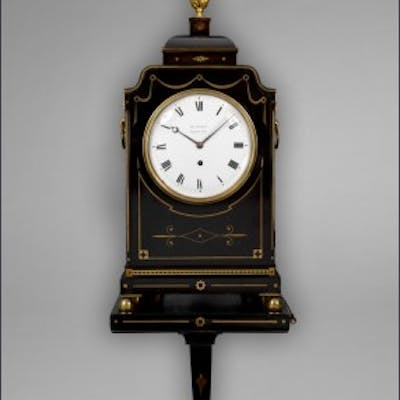 A rare and possibly unique Regency musical bracket clock by George