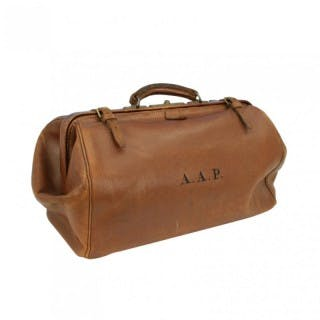 Leather Gladstone Bag