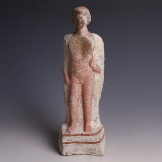 Greek Statuette of a Young Man
