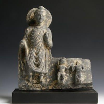 Gandhara Sculpture Of Buddha Shakyamuni Barnebys