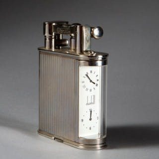 DUNHILL LIMITED EDITION GIANT DOUBLE CLOCK LIGHTER