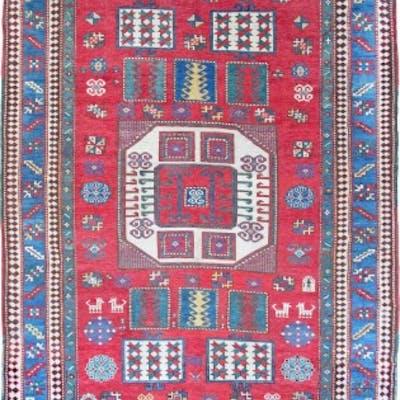 Antique Karachoff Kazak rug