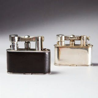 TWO HALF GIANT DUNHILL LIGHTERS