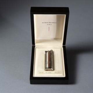 VERY RARE DUNHILL GMT LIGHTER 0704/1884 LIMITED EDITION BOX SET