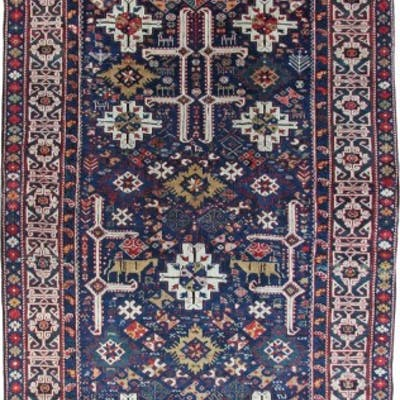 Antique Kuba Afshan, Caucasian