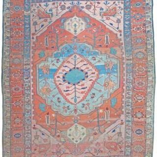 Antique Bakshaish carpet, Persia