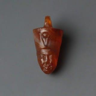 Egyptian Pharaonic Bust Amulet
