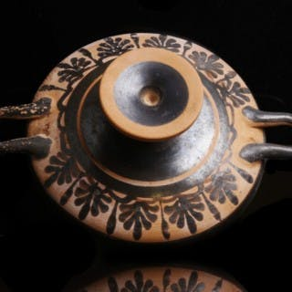Attic Footed Kylix with Palmettes