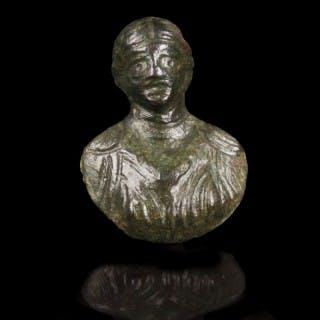 Small Roman Bronze Appliqué