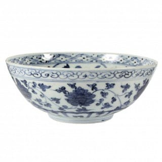 Ming Blue and White 15th Century Blue and White