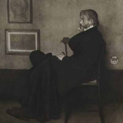 Arrangement in Grey and Black No.2 - Thomas Carlyle