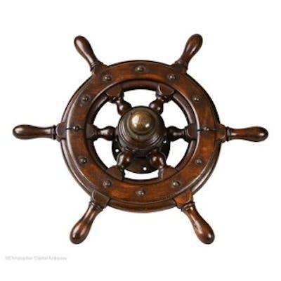 Victorian Small Ship's Wheel