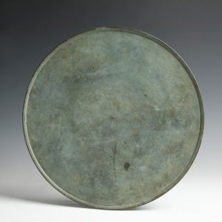 Large Rare Roman Bronze Tray