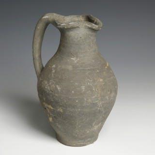 Hellenistic Grey-Ware Oinochoe