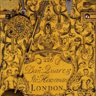 Daniel QUARE and Stephen HORSEMAN, London, N° 226, Queen Anne ebony