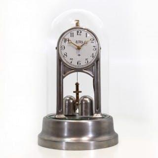 American Silver Electric Torsion Clock