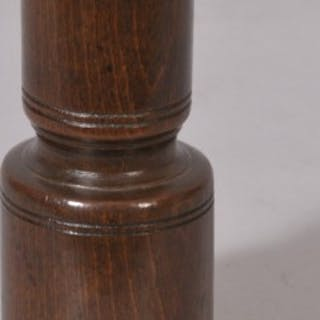 Antique Treen 18th Century Double Ended Beech Spice Measure
