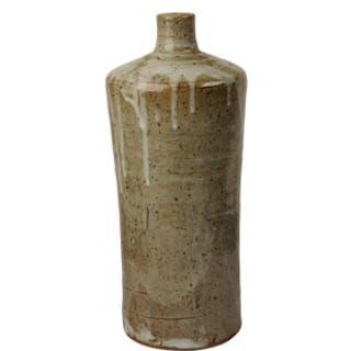 Studio ceramic glazed bottle vase, William Marshall