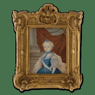 Portrait miniature of Fredrika Charlotta Insenstierna (1757-1811)