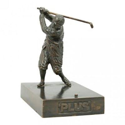 Bronze Golf Figure