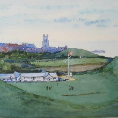 Cromer Golf Club Painting