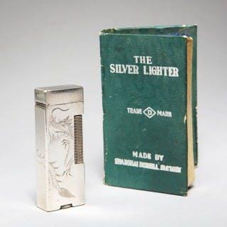 THE SILVER LIGHTER – SHANGHAI DUNHILL FACTORY – GREEN BOOK