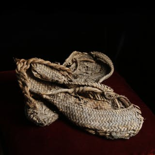 Egyptian New Kingdom Palm Leaf Sandals
