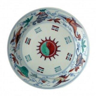 kangxi / Yongzheng Doucai Plate
