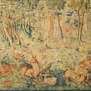 """Unique style antique tapestry - """"Fantastic Animals"""""""