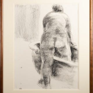 Untitled (Nude, Concetta Branson and Bathtub - study for 'Bathing