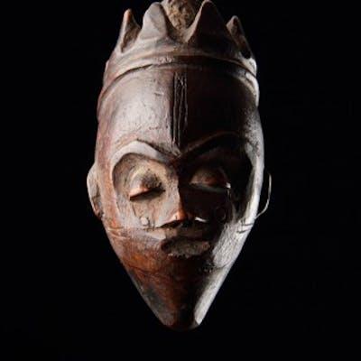 Democratic Republic of Congo Pende Peoples Wood Pendant