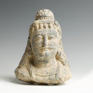 Gandharan Head of Buddha