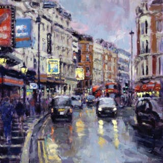 Twilight, Shaftesbury Avenue, London