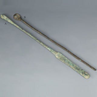 Roman Bronze Medical Tools