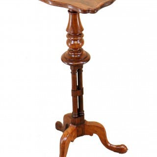 19th Century Rosewood Piecrust Occasional Table