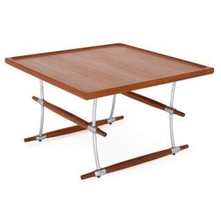 Danish modern coffee table by Quistgaard and Richard Nissen