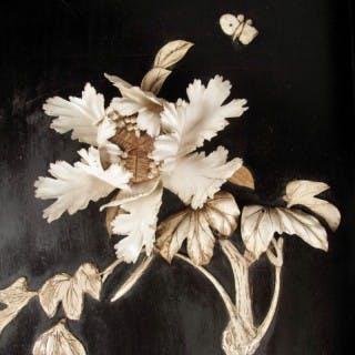 An interesting unusual oriental coffee table, Japan Meiji period