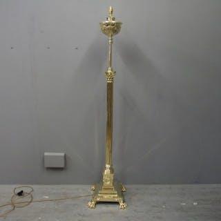 Cast Brass Floor Lamp