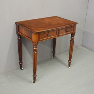 Victorian Side Table or Writing Table