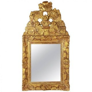 Small French 18th Century Régence Wall Mirrror