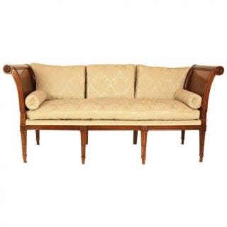 """French 18th Century Day Bed or """"Lit de Repos"""" in the Manner of George"""