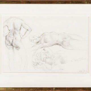 'Nude Figure Studies' Leon Underwood 1888-1963