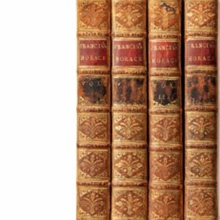 The 12 Works of Horace from Horatio Nelson's library