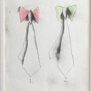 Jim Dine Litho – Ties