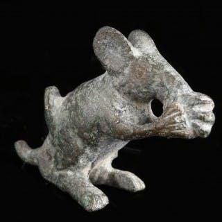 Ancient Roman Mouse Figurine