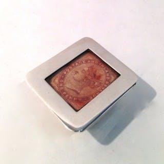 Antique Stamp Box.
