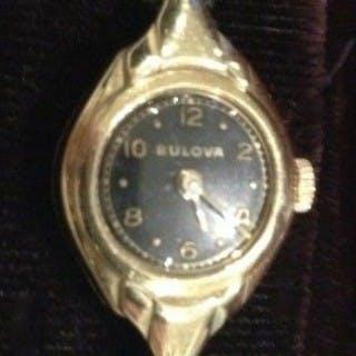 Vintage Gold Bulova Watch.
