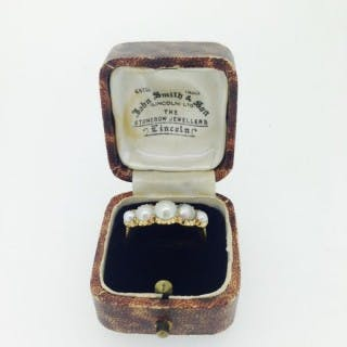 Victorian Pearl Ring.